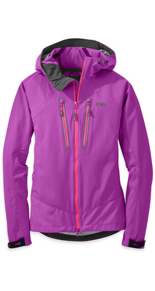 Outdoor Research W's Iceline Jacket 57C-Ultraviolet / Night